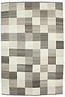 Ковер суконные Checker 1,6Х2,4 КОРИЧНЕВЫЙ прямоугольник, фото 4