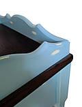 Тумба приліжкова в стилі прованс з ясена та мдф., фото 3