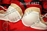 6822 А(неполн В) Baozhennu белый Супер push/up бюстгальтер двойной литой пуш-ап (на 1-1,5 размер) 80