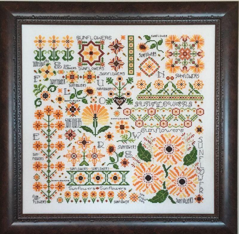 Схема Dreaming of Sunflowers Rosewood Manor S1134
