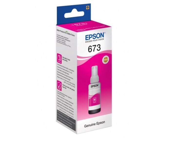 Контейнер EPSON L800 magenta (C13T67334A)