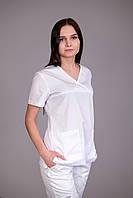 Женский медицинский костюм врача (Белый)