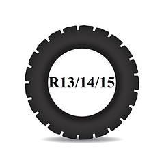 Резина для мотоблоков R13 R14 R15
