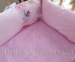 Бортики в детскую кроватку Фея