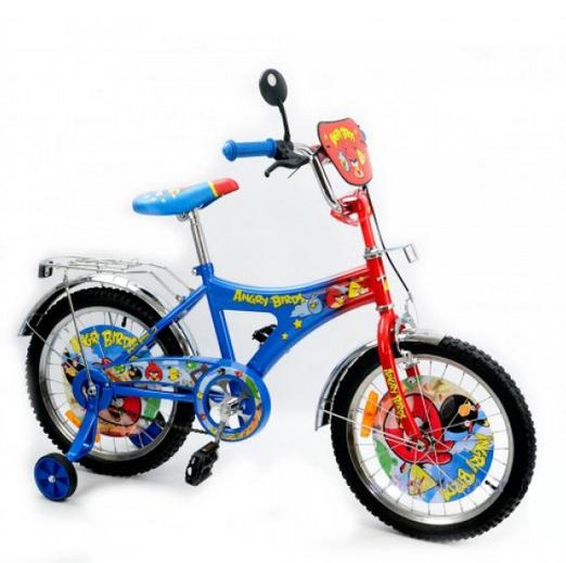 Дорожній дитячий велосипед.Дитячий велосипед з додатковими колесами.