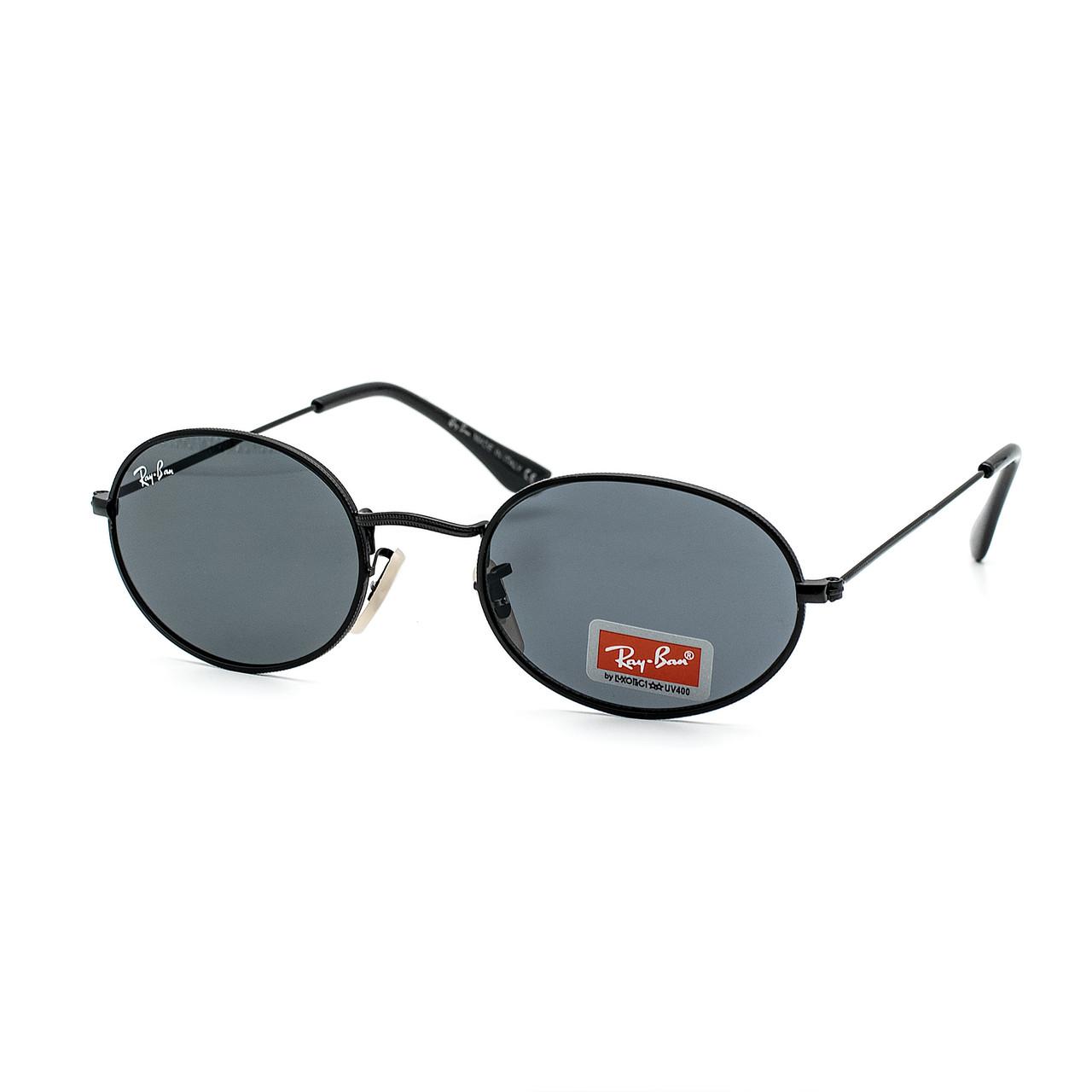 Очки Ray Ban Oval черные (replica)