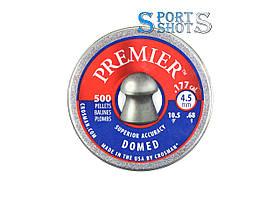 Пули Crosman Premier Domed 0.68г кругоголовая 500шт/пчк