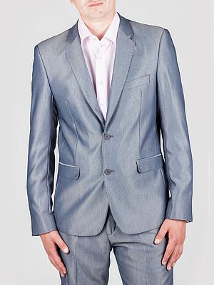 Деловой костюм мужской светло серый