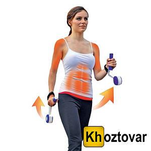 Гантелі-обважнювачі для спортивної ходьби і фітнесу Swing Weights