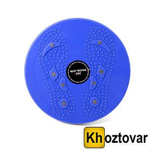 Тренажер обертовий магнітний диск Waist Twisting Disc