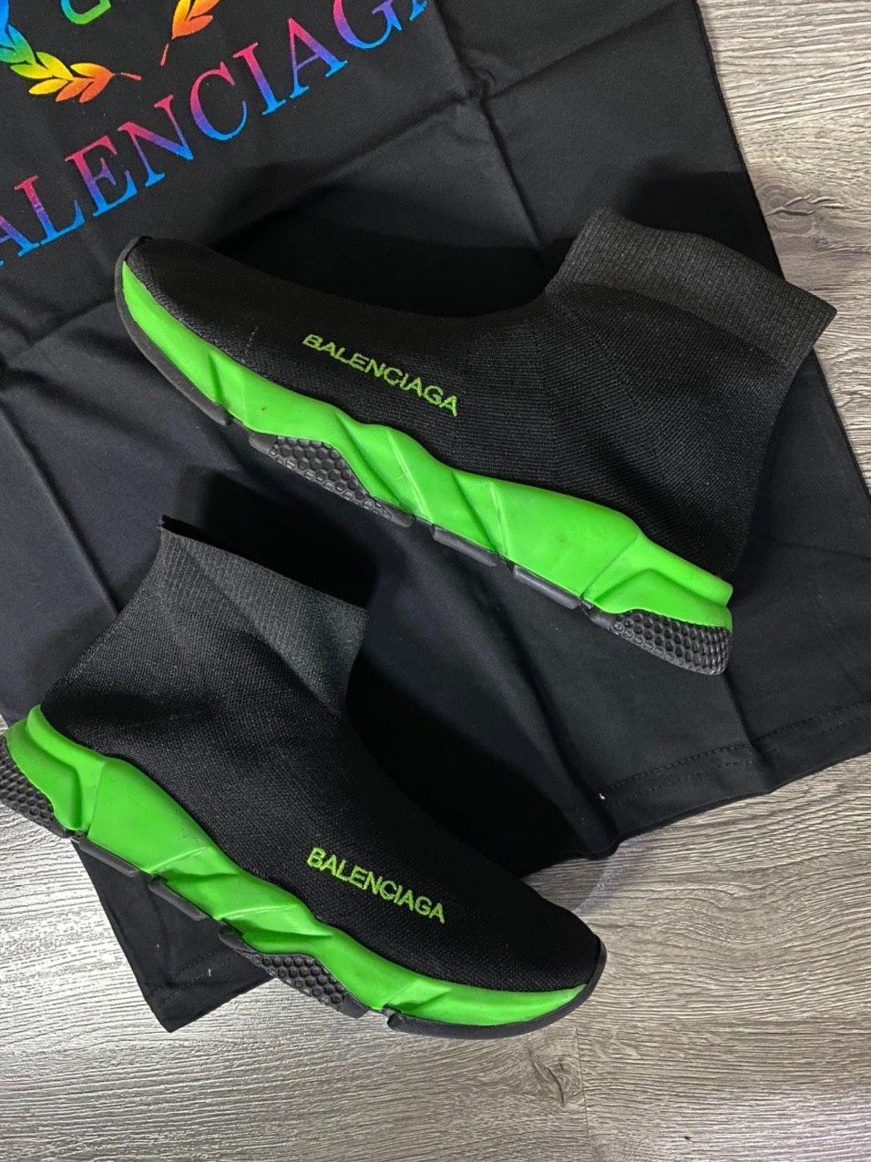 Мужские кроссовки Balenciaga D9371 черная
