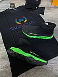 Мужские кроссовки Balenciaga D9371 черная, фото 3