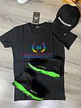 Мужские кроссовки Balenciaga D9371 черная, фото 4