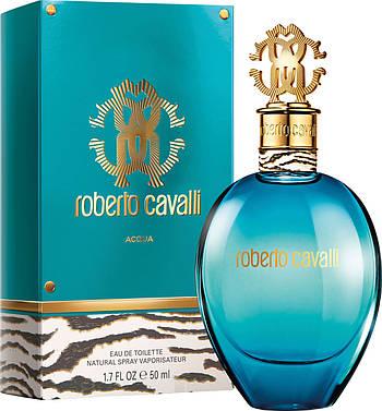 Оригинал Roberto Cavalli Acqua 75ml edt Роберто Кавалли Аква