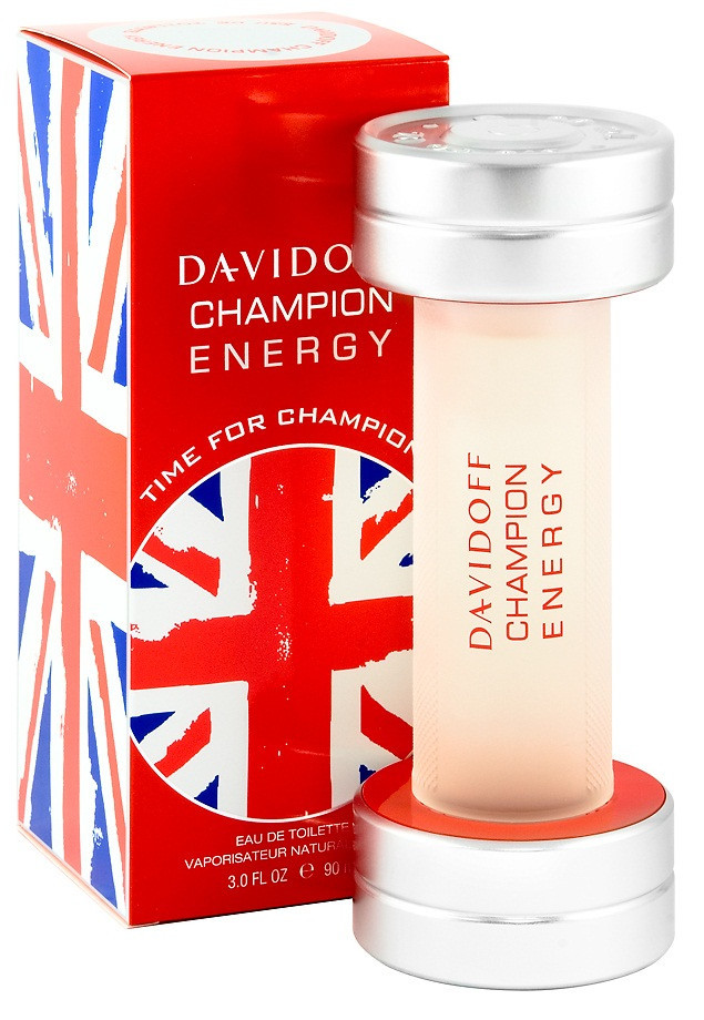 Оригінал Davidoff Champion Energy Time for Champion 90ml edt Давідофф Чемпіон Енерджі Тайм фо Чемпионс