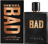 Оригинал Diesel Bad 125ml edt Туалетная Вода Дизель Бэд, фото 4