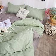 """Комплект постільної білизни """"Зелена хвиля"""" (двоспальний євро), фото 6"""