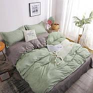 """Комплект постільної білизни """"Зелена хвиля"""" (двоспальний євро), фото 8"""