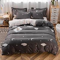 Комплект постельного белья Night Sky (двуспальный-евро), фото 1
