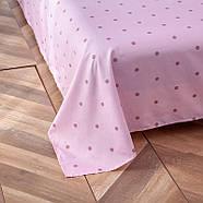 """Комплект постельного белья """"Фламинго и листья"""" (двуспальный-евро), фото 8"""