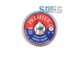 Пули Crosman Premier Super Point 4,50мм, 0.51г, 500шт