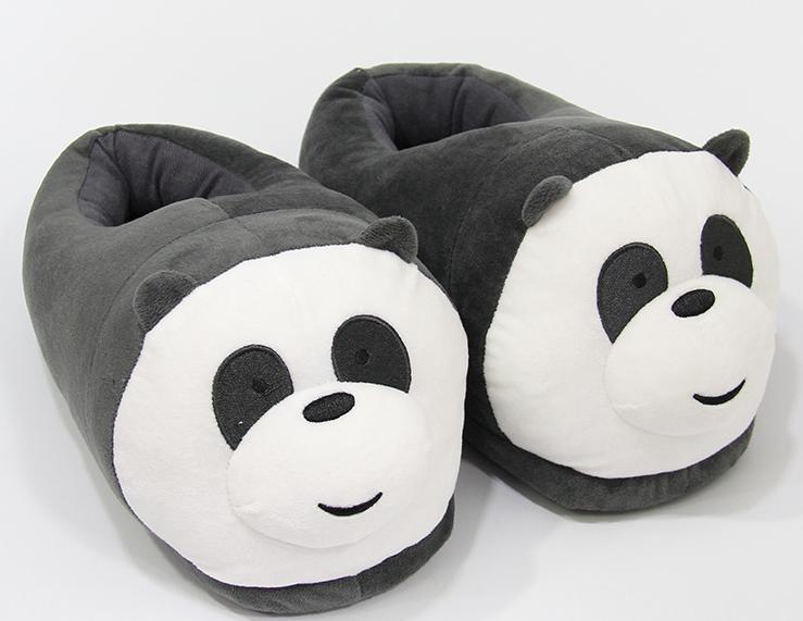 Тапочки-игрушки Панда детские,25-30