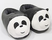 Тапочки-игрушки Панда детские,25-30, фото 1