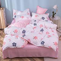 """Комплект постельного белья """"Нежный цветок"""" (двуспальный-евро), фото 1"""