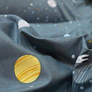 """Комплект постільної білизни """"Безмежний космос"""" (двоспальний євро), фото 5"""