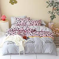 Комплект постельного белья Hello beautiful (двуспальный-евро), фото 1