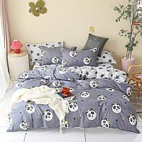 """Комплект постельного белья """"Панда"""" (двуспальный-евро), фото 1"""