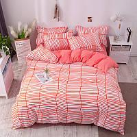 """Комплект постельного белья """"Полоска"""" (двуспальный-евро), фото 1"""