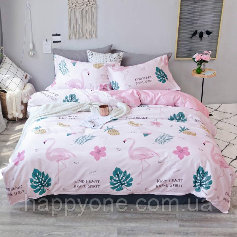 Комплект постельного белья King heart (двуспальный-евро)