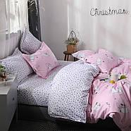 """Комплект постільної білизни """"Кошеня і клубок"""" рожевий (двоспальний євро), фото 9"""