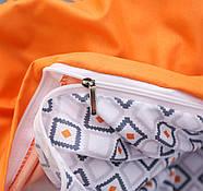 """Комплект постільної білизни """"Орнамент"""" (двоспальний євро), фото 6"""