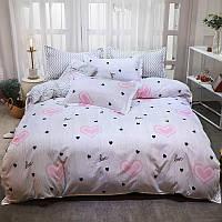 Комплект постельного белья Love (двуспальный-евро), фото 1