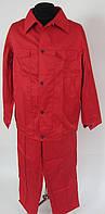 Костюм рабочий «Мастер» (штаны +куртка), красный