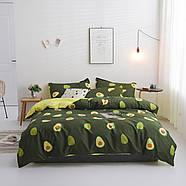 """Комплект постільної білизни """"Авокадо"""" (двоспальний євро), фото 2"""
