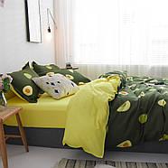 """Комплект постільної білизни """"Авокадо"""" (двоспальний євро), фото 3"""