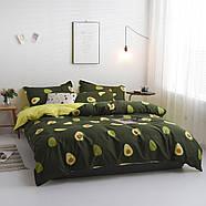 """Комплект постільної білизни """"Авокадо"""" (двоспальний євро), фото 5"""