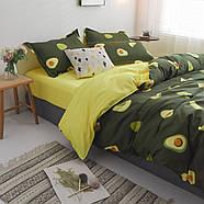 """Комплект постельного белья """"Авокадо"""" (двуспальный-евро), фото 6"""