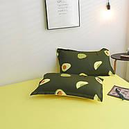 """Комплект постільної білизни """"Авокадо"""" (двоспальний євро), фото 7"""
