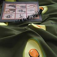 """Комплект постільної білизни """"Авокадо"""" (двоспальний євро), фото 10"""