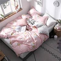 """Комплект постельного белья """"Рыжий кот"""" (двуспальный-евро), фото 1"""