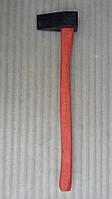 Колун кованый 2 кг (с красной ручкой), фото 1