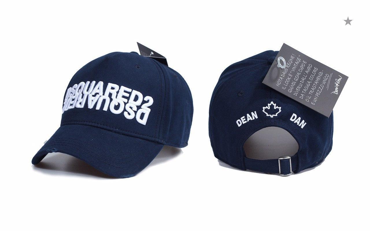 Брендовая кепка Dsquared2 D9375 синяя