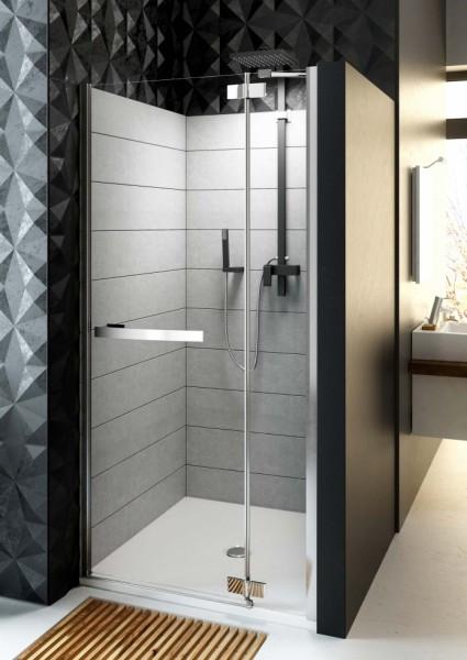 Двери распашные для ниши правосторонние Aquaform HD COLLECTION 103-09396, 900х1900 мм