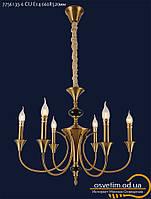 Люстра классическая свеча&7756135-6 CU