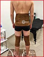 Комплект: пояс и наколенники / налокотники из натуральной верблюжьей шерсти, Турция, фото 1