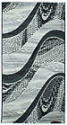 Дорожка современный FESTIVAL 6015A 0,8Х1 ЧЕРНЫЙ , фото 10
